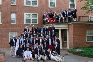 Gamma Phi Pikes at Wake Forest University support the Cycle for Life